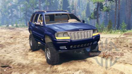 Jeep Grand Cherokee (WJ) para Spin Tires