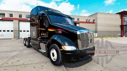 Pieles en el tractor Peterbilt 387 para American Truck Simulator
