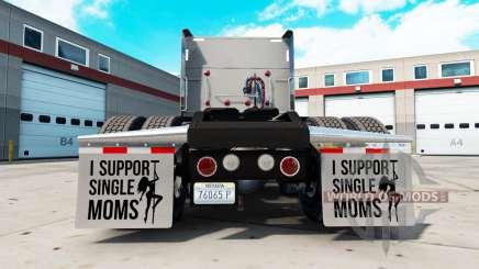 Guardabarros yo Apoyo a Madres Solteras v2.1 para American Truck Simulator