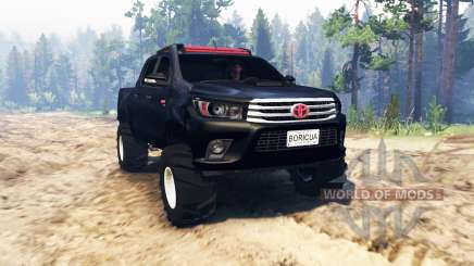 Toyota Hilux Double Cab 2016 para Spin Tires