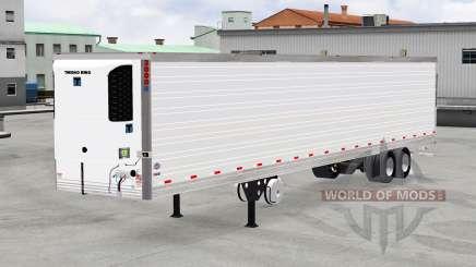 Refrigerado semi-remolque de Thermo King para American Truck Simulator