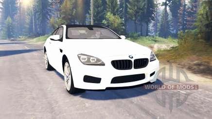BMW M6 (F13) v2.0 para Spin Tires