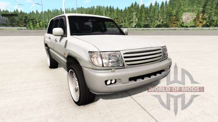 Toyota Land Cruiser 100 v0.5.4 para BeamNG Drive