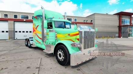 Hoffman de la piel para el camión Peterbilt 389 para American Truck Simulator