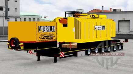 Baja de barrido con transformador de Caterpillar para American Truck Simulator