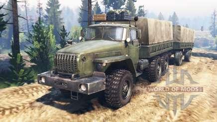 Ural-4320-31 v2.0 para Spin Tires