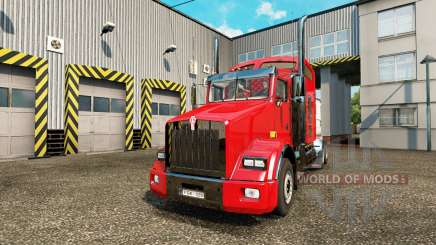 Kenworth T800 v1.02 para Euro Truck Simulator 2
