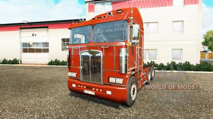 Kenworth K100 v4.0 para Euro Truck Simulator 2