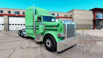 La piel de A. J. López para el camión Peterbilt 389 para American Truck Simulator