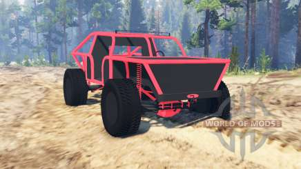 Off-road buggy para Spin Tires