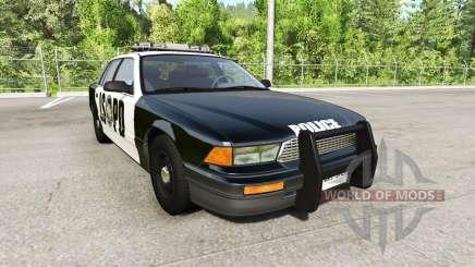 Gavril Grand Marshall San Andreas Police para BeamNG Drive
