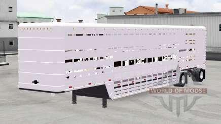 Semirremolque-ganado portador para American Truck Simulator