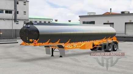 Combustible semi-remolque Polar para American Truck Simulator