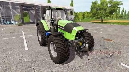 Deutz-Fahr Agrotron 7230 TTV v1.1 para Farming Simulator 2017