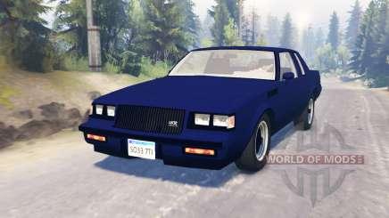 Buick GNX 1987 para Spin Tires