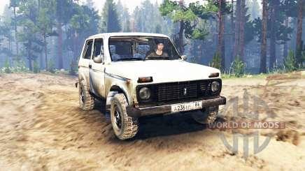 VAZ-2121 Niva para Spin Tires