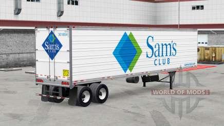 Real logotipos de la compañía para remolques v2.0 para American Truck Simulator