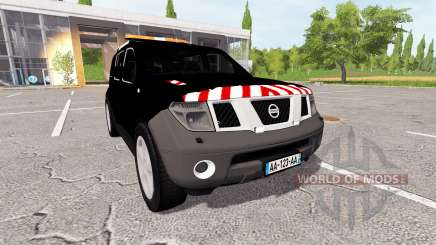 Nissan Pathfinder (R51) escorte para Farming Simulator 2017