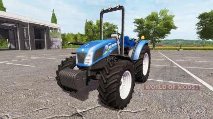 New Holland T4.75 v1.2 para Farming Simulator 2017