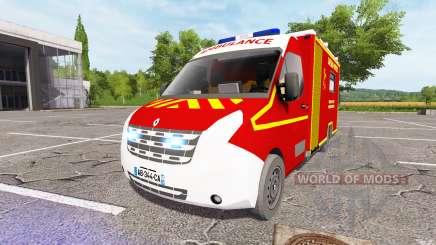Renault Master Ambulance v2.0 para Farming Simulator 2017