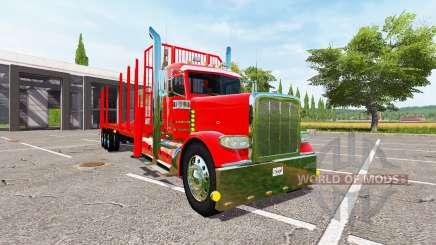 Peterbilt 388 forest para Farming Simulator 2017
