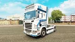 Hovotrans de la piel para el camión Scania