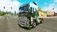 Minecraft skin para camiones Volvo