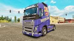 Barcelona de la piel para camiones Volvo