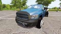Dodge Ram flat bed rails