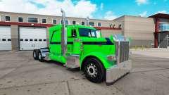 Sueño esmeralda de la piel para el camión Peterb