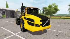 Volvo A40G forwarder