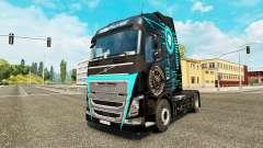 Piel de alta Tecnología de Volvo trucks
