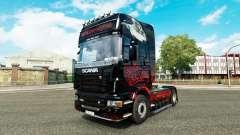 Parca de la piel para Scania camión