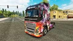 La princesa del Dragón de la piel para camiones