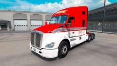 La piel de Lexan de Transporte en el tractor Ken