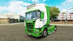 La piel Beelen.nl para tractor Scania