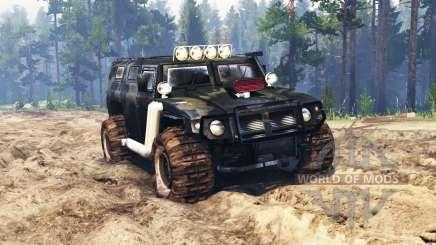 GAZ-2330 Tigr v0.3 para Spin Tires