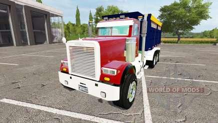 Freightliner FLD 120 dump para Farming Simulator 2017