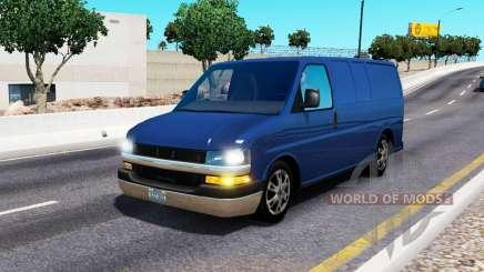 Chevrolet Express para el tráfico para American Truck Simulator