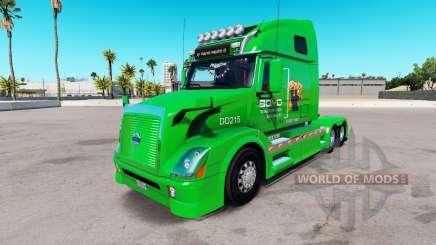 Boyd Transporte de la piel para camiones Volvo VNL 670 para American Truck Simulator