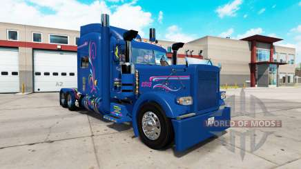 La piel de Excelencia para el camión Peterbilt 389 para American Truck Simulator