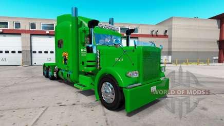Boyd Transporte de la piel para el camión Peterbilt 389 para American Truck Simulator