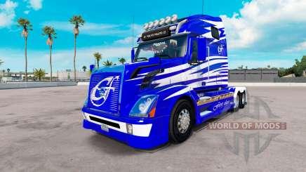 Piel de Primera Clase en los camiones Volvo VNL 670 para American Truck Simulator