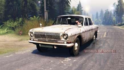 GAZ-24 Volga estrellas para Spin Tires