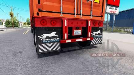 Actualizado colgajos de barro de semi-remolques para American Truck Simulator
