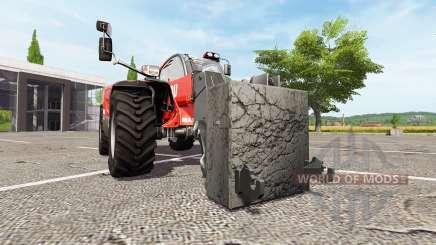 Adaptador para el manipulador telescópico para Farming Simulator 2017