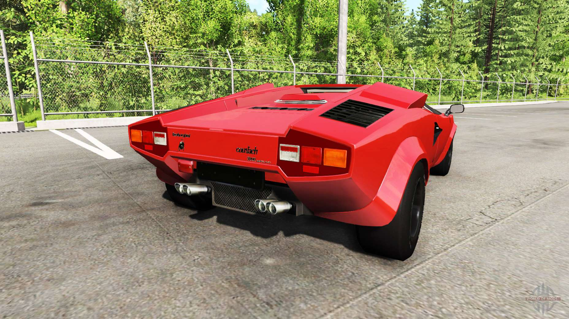 lamborghini countach v2 0 para beamng drive. Black Bedroom Furniture Sets. Home Design Ideas