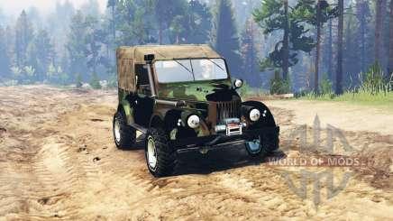 GAZ 69 Expedición para Spin Tires