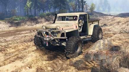 Willys Pickup Crawler 1960 v2.5.3 para Spin Tires
