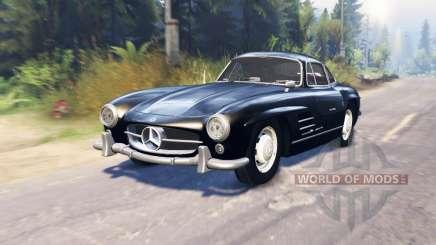 Mercedes-Benz 300 SL (W198) para Spin Tires